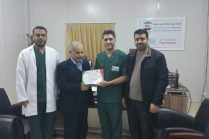 amer shoaib receiving certificate